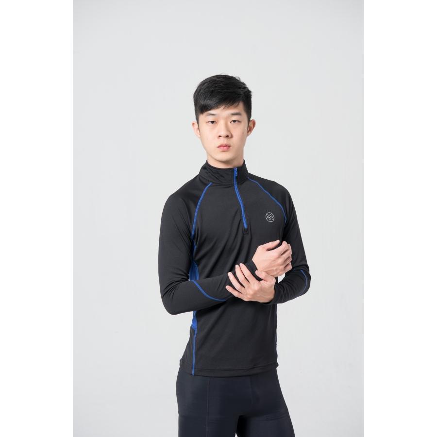 MMT單向導濕四季平衡衣-黑色