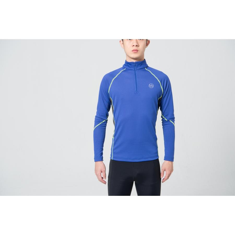 MMT單向導濕四季平衡衣-藍色